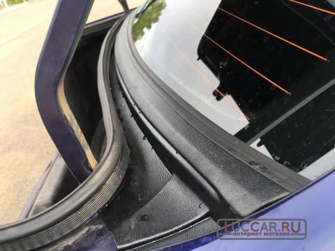 Накладка в проём заднего стекла (Жабо Без скотча) Lada Granta Fl Седан