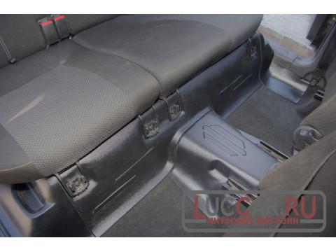 Накладки на ковролин под заднее сиденье Lada Granta Fl | Kalina 2 | Datsun (Раздельные сиденье)