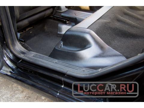 Накладки с карманами на ковролин порогов задние Lada Granta Fl |Kalina 2 | Datsun