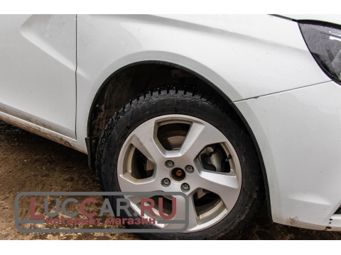 Защитные накладки на арки (АБС) Lada Vesta