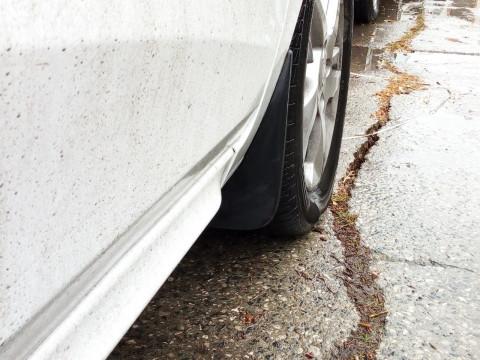 Брызговики передние увеличенные Lada Xray (Гард)