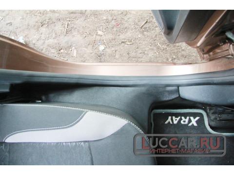 Накладки на ковролин задние Lada Xray