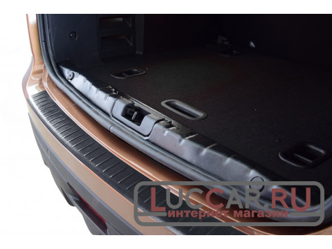Накладка на задний бампер Lada Xray (АБС)