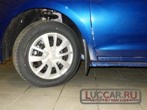 Брызговики передние широкие Renault Logan 2, Sandero 2