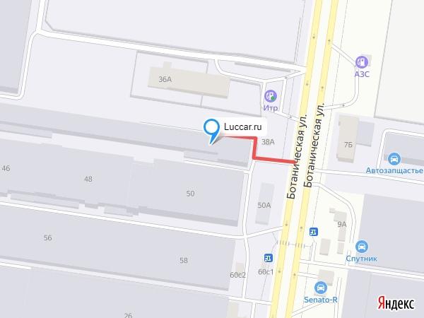 Адрес самовывоза интернет-магазина luccar.ru